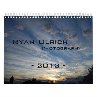 Ryan Ulrich Photography 2013 Calendar