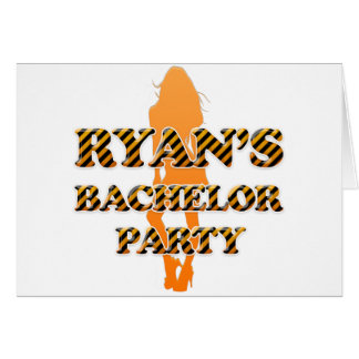 Ryan's Bachelor Party Card