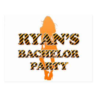 Ryan's Bachelor Party Postcard