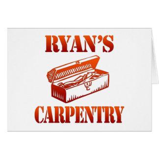Ryan's Carpentry Card