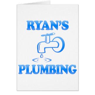 Ryan's Plumbing Card