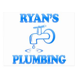 Ryan's Plumbing Postcard