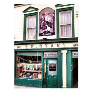 Ryan's Pub Cashel Postcard