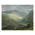 Rydal Water, 1786 (w/c) Poster