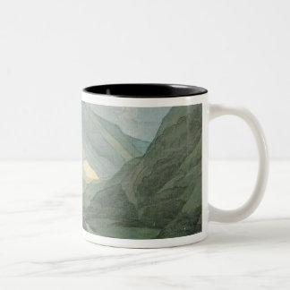 Rydal Water, 1786 (w/c) Two-Tone Coffee Mug