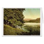 Rydal Water, III., Lake District, England rare Pho Greeting Card