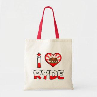Ryde, CA Tote Bags