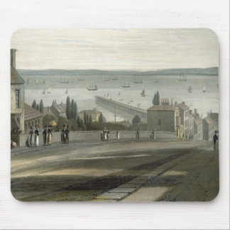 Ryde, from 'A Voyage Around Great Britain Undertak Mousepads