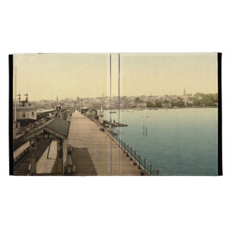 Ryde from the Pier, Isle of Wight, England iPad Folio Cases