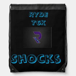 RYDE Shocks T6K Shocks BOOKBAG Drawstring Backpack
