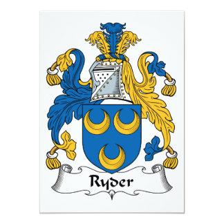 Ryder Family Crest Invite