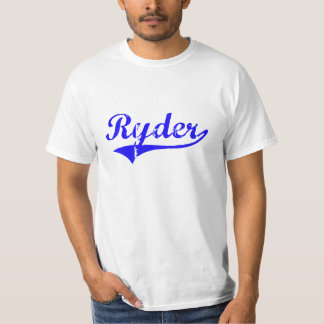 Ryder Surname Classic Style T-Shirt