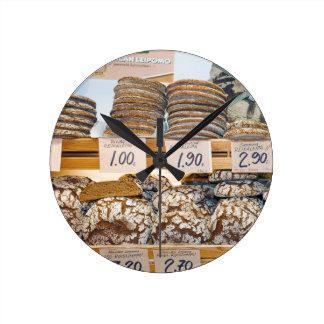 Rye Bread at Hakaniemi Market Hall Round Clock