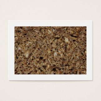 Rye Bread/Pumpernickel (Bordered) Business Card