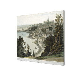 Rye, East Sussex, from 'A Voyage Around Great Brit Canvas Print