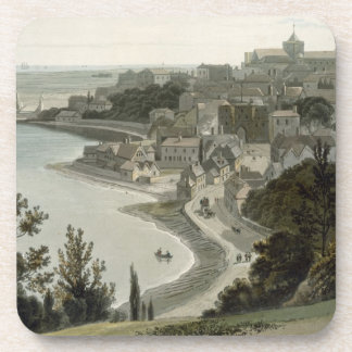 Rye, East Sussex, from 'A Voyage Around Great Brit Drink Coaster