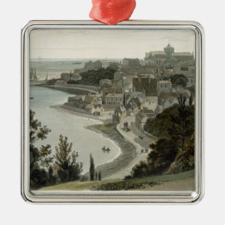 Rye, East Sussex, from 'A Voyage Around Great Brit Metal Ornament