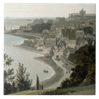 Rye, East Sussex, from 'A Voyage Around Great Brit Tile