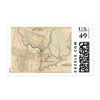 Rye Neck, Mamaroneck Stamp