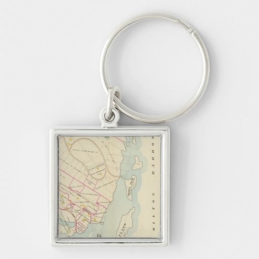 Rye, New York Key Chain