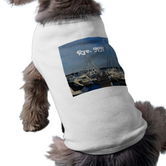 Rye NH Harbor Doggie T Shirt