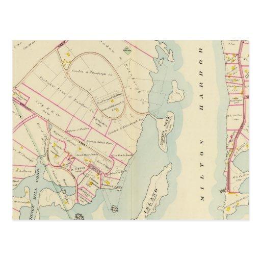 Rye, Nueva York Tarjeta Postal
