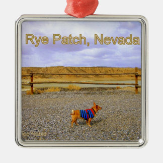 Rye Patch, Nevada Metal Ornament