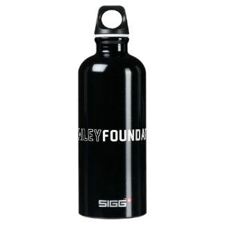 Ryken Bailey Foundation Black Aluminum Water Bottle