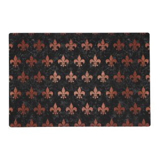 RYL1 BK MARBLE COPPER (R) PLACEMAT
