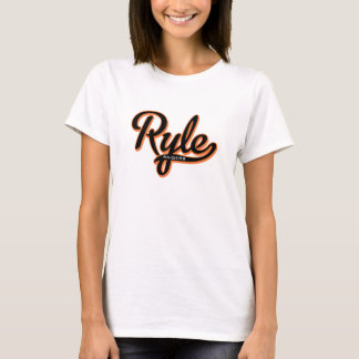 Ryle Raiders Script Baby Doll T T-Shirt
