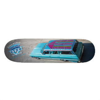 Ryno's 64 Chevy Wagon Skateboard Deck