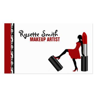 Rysette - Makeup Artist Business Card