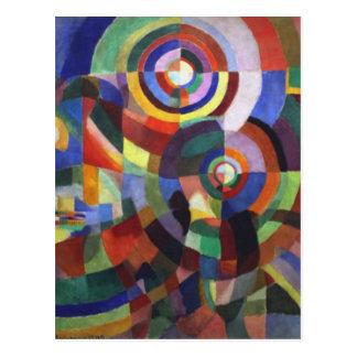 Rythm by Robert Delaunay Postcard