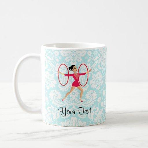 Rythmic Gymnastics Hoops Mug