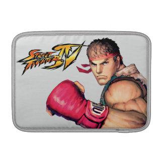 Ryu con el puño aumentado funda macbook air
