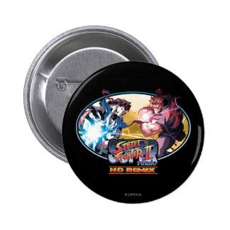 Ryu contra Akuma 2 Pin
