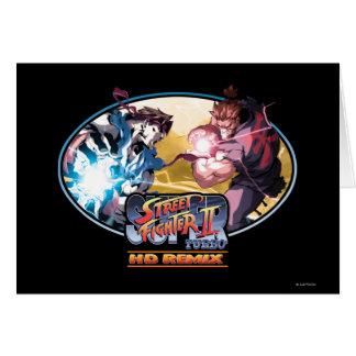 Ryu contra Akuma 2 Tarjeton