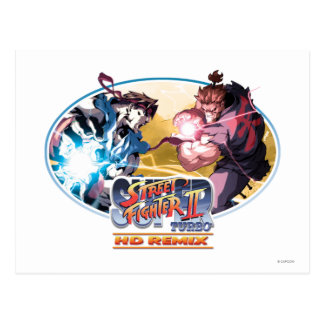 Ryu contra Akuma Postal