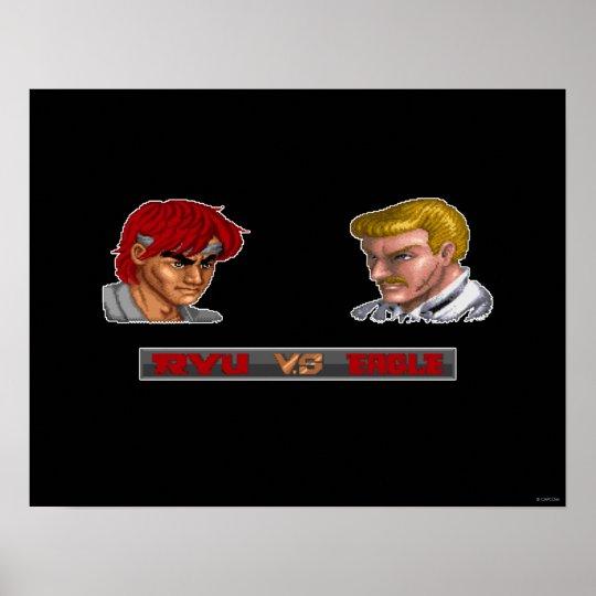 Ryu contra Eagle Póster