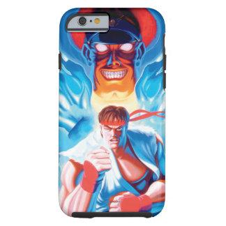 Ryu contra el bisonte funda para iPhone 6 tough