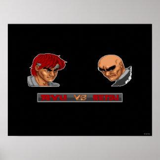 Ryu contra Retsu Póster