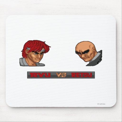 Ryu contra Retsu Tapete De Raton