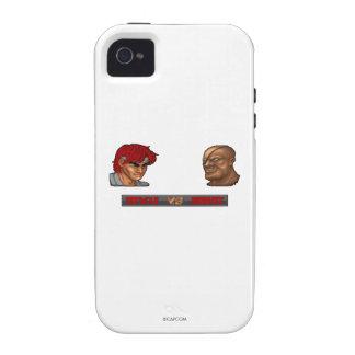 Ryu contra Sagat iPhone 4/4S Fundas