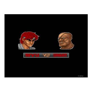Ryu contra Sagat Postal