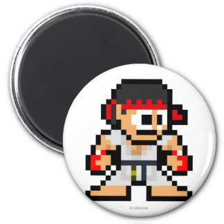 Ryu de 8 bits imán redondo 5 cm