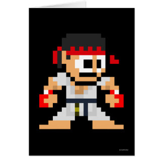 Ryu de 8 bits felicitaciones