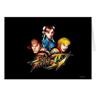 Ryu, Ken & Chun-Li Card