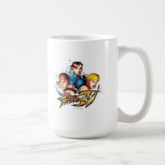 Ryu, Ken & Chun-Li Coffee Mug