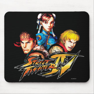 Ryu, Ken & Chun-Li Mouse Pads