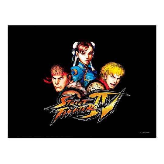 Ryu, Ken & Chun-Li Postcard